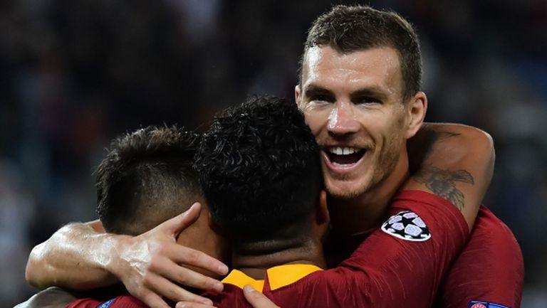 Джеко поведе Рома към гръмка победа (видео + галерия)