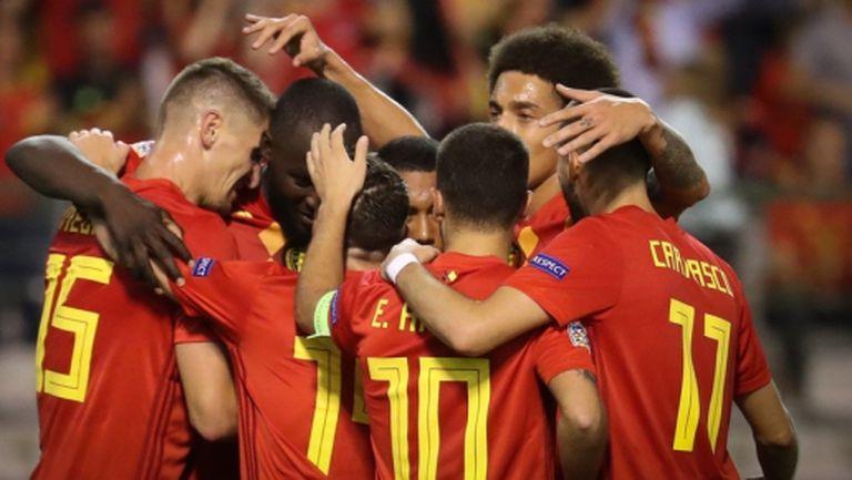 Белгия продължава без грешка (видео)