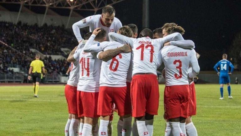 Швейцария се върна в играта, Исландия изпадна
