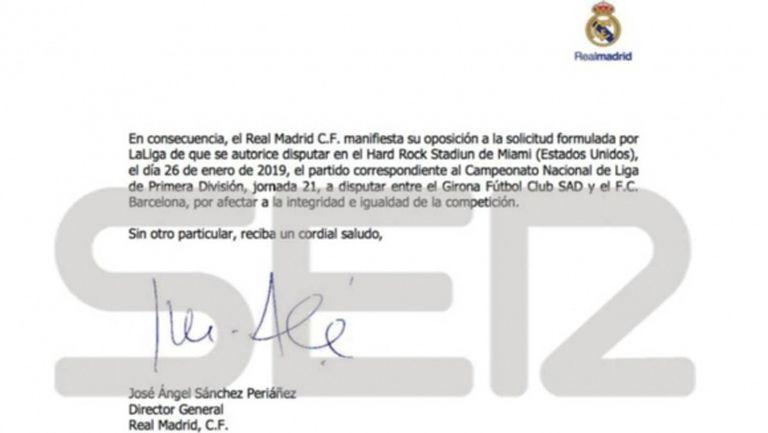 От Реал Мадид официално се обявиха срещу мача на Барселона в САЩ