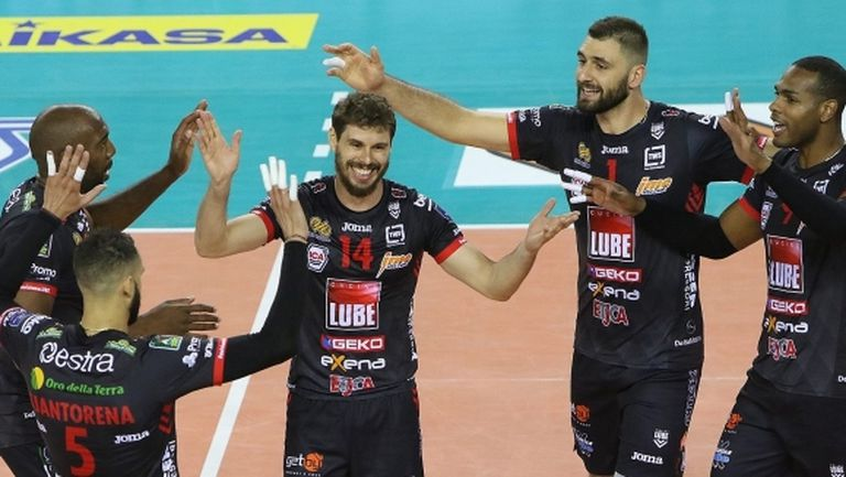 Цветан Соколов игра цял мач, Лубе с втора победа в Италия (видео + снимки)