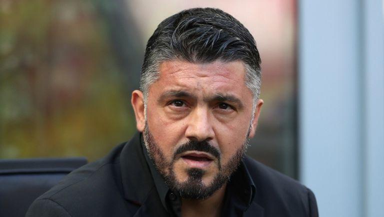 Гатузо опроверга слуховете, че ще бъде освободен от Милан