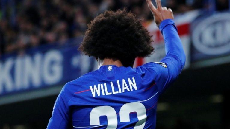 Вилиан: Оставам в Челси