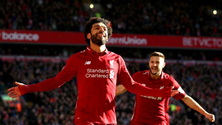 """Ливърпул допусна първи гол на """"Анфийлд"""" от февруари, но въпреки това излезе с едни гърди пред Ман Сити (видео)"""