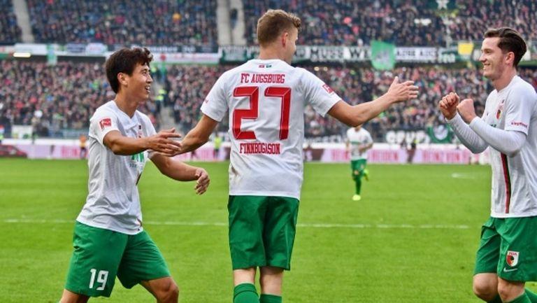 Аугсбург за пореден път си тръгна с победа от Хановер