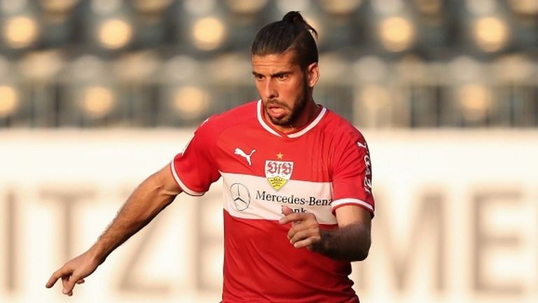Два мача и 10 хиляди евро наказание за защитник на Щутгарт заради груб фаул