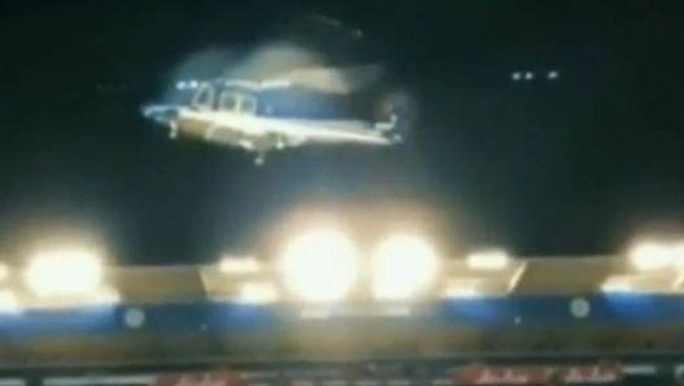 Появи се нов запис на разбилия се хеликоптер в Лестър (видео)