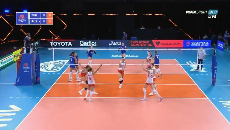 Турция - Русия 3:2