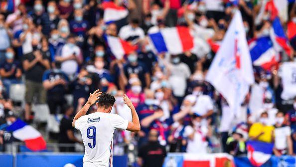 Втори гол за Жиру и резултатът е 3:0 за Франция срещу България