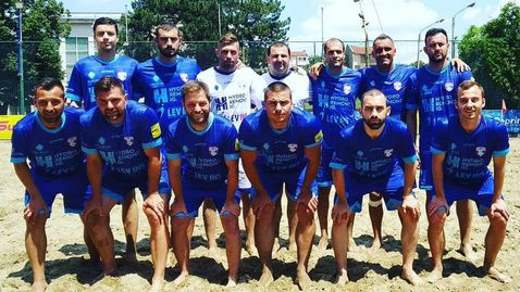 МФК Спартак срещу грузинци и португалци в Шампионската лига по плажен футбол