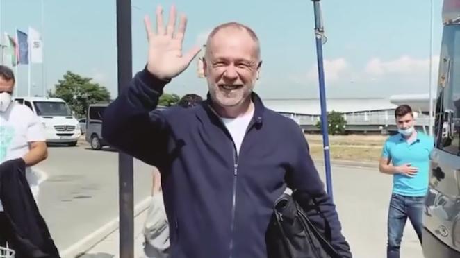 Мано Менезеш пристигна в София