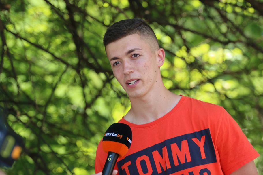 Интервю с младата надежда на Витоша (Бистрица) Христо Иванов