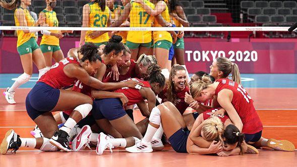 САЩ взе реванш от Бразилия и спечели историческа първа олимпийска титла