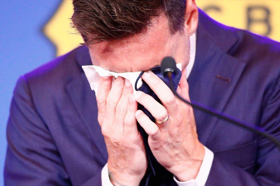 Лионел Меси се сбогува с Барселона