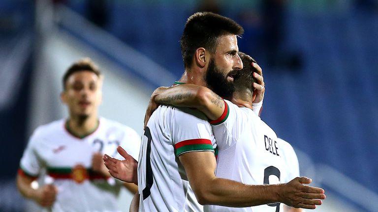България избухна срещу Грузия с четири гола