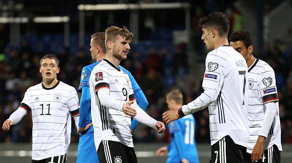 Исландия - Германия 0:4