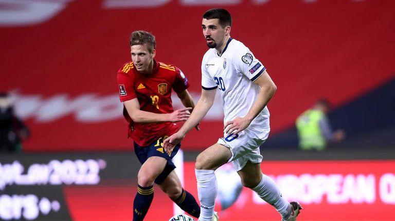 Косово - Испания 0:2