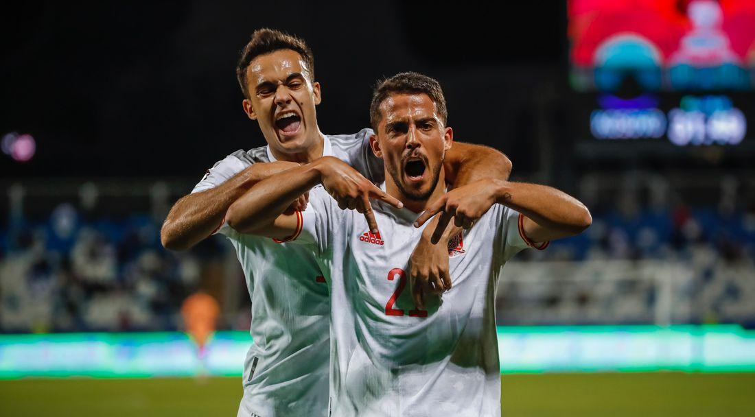 Испания срази Косово, Форналс с дебютен гол