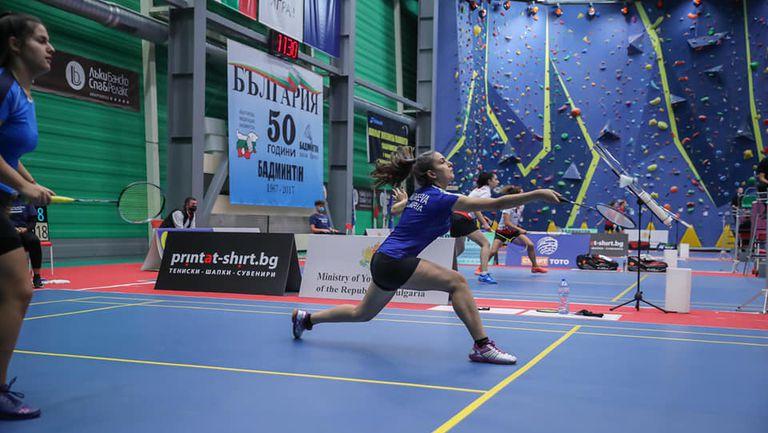 Петима българи са 1/4-финалисти на Открития международен шампионат на България по бадминтон