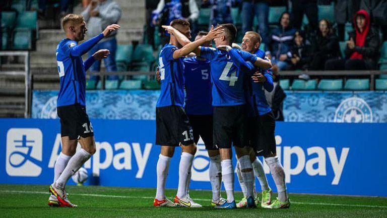 Естония дочака първата си победа в квалификациите