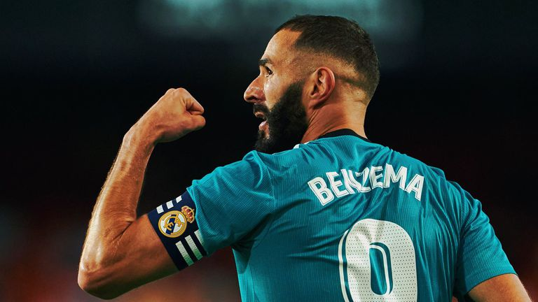 Бензема е №1 в Ла Лига за септември