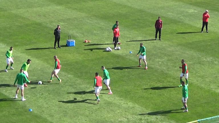 Пирин загрява преди дербито на кръга във Втора лига