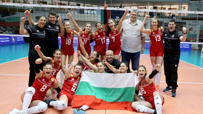 България U16 на ЕвроВолей 2021 след разгром над Финландия (видео + снимки)🏐