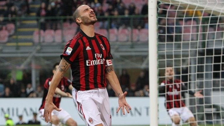 Феновете на Милан искат Бонучи да бъде продаден