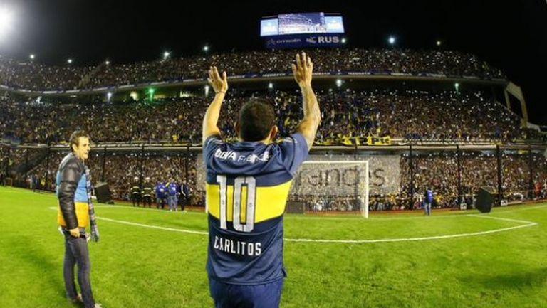 Карлитос се завърна у дома (снимка)