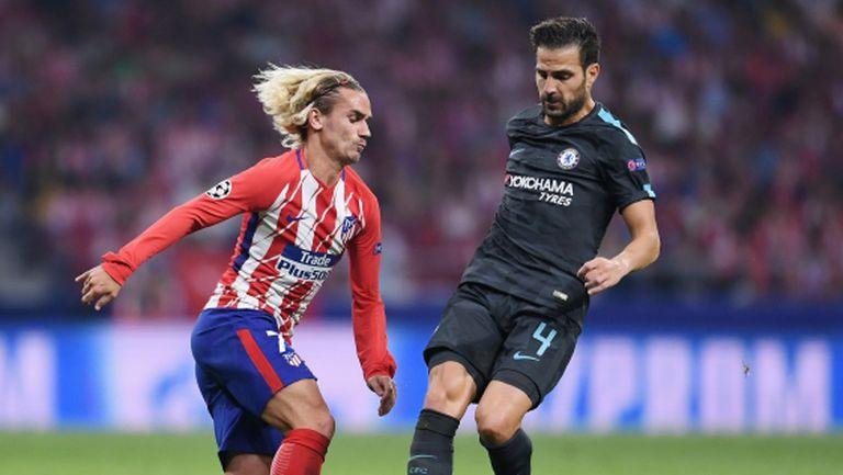 Барселона поставя само Меси над Гризман