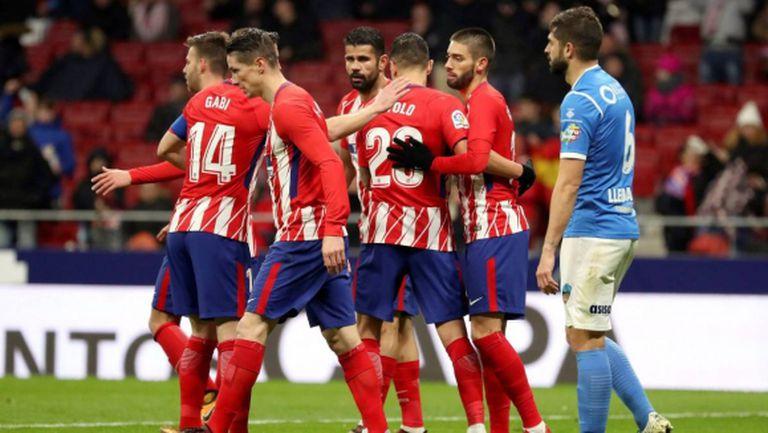 Лесна победа за Атлетико и дебютен гол за Витоло (видео)