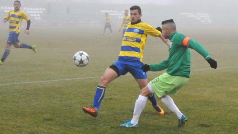 Берое удари Марица в мъглата на Стара Загора