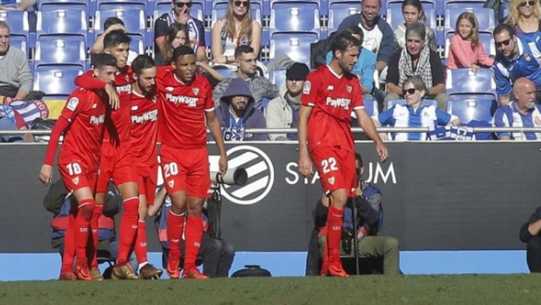 Севиля с победа №1000, Еспаньол мисли за дербито с Барселона (видео)