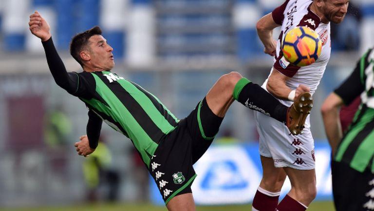 Торино взе точка от Сасуоло