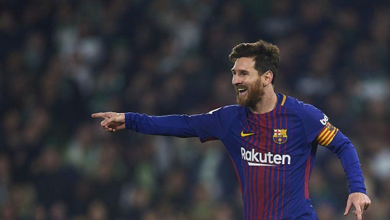 """Не """"Златната топка"""" е целта пред Лео Меси"""