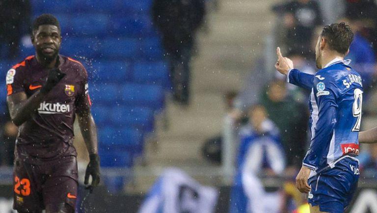 Играч на Барселона забърка расистки скандал