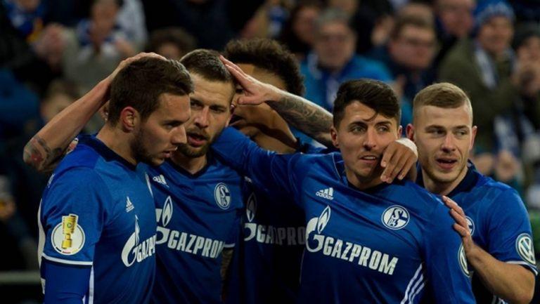 Шалке 04 е последният полуфиналист за Купата на Германия (видео)
