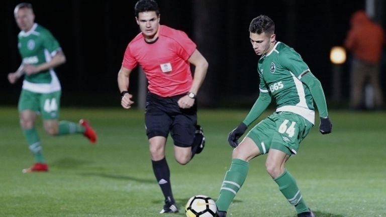 Херо привлече 17-годишен талант в първия отбор на Лудогорец