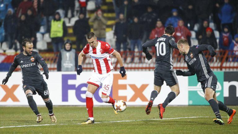 Нулево равенство в първия мач от евротурнирите за годината (видео)