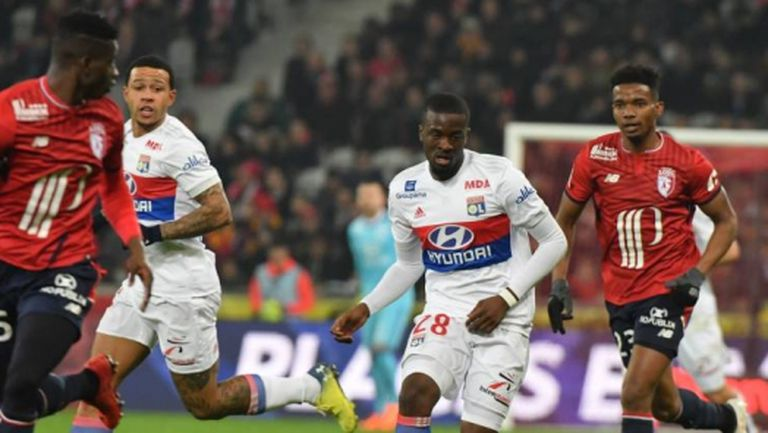 Лион изпусна аванс от два гола срещу Лил (видео)