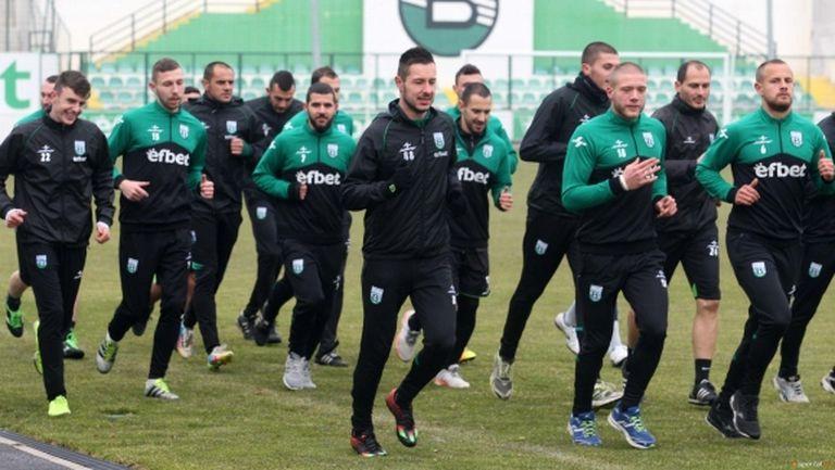 Групата на Витоша (Бистрица) за мача с Дунав