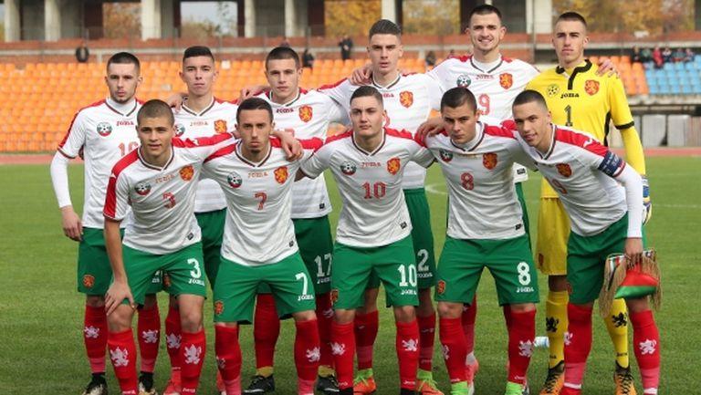 Таланти на Левски носят победата на България до 19 години
