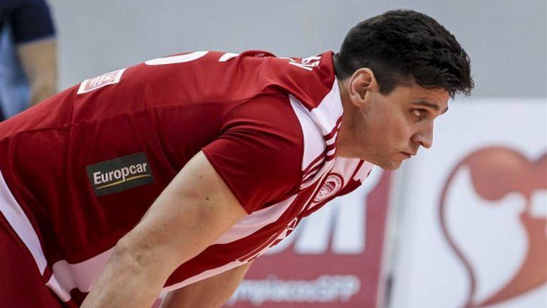 Тодор Алексиев заби 18 точки (6 блока), Олимпиакос с 18 от 18 в Гърция (снимки)