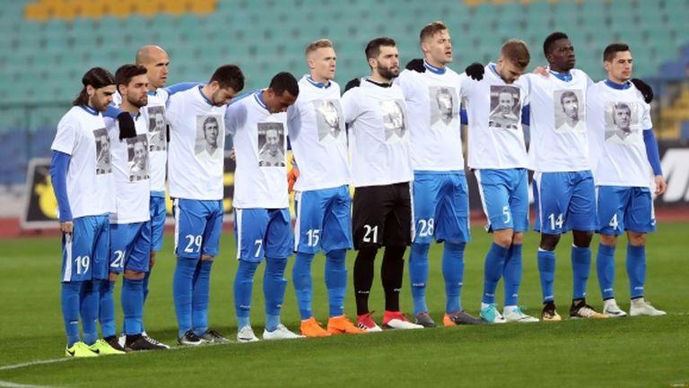 Легенда на световния футбол реагира положително на публикация на Левски