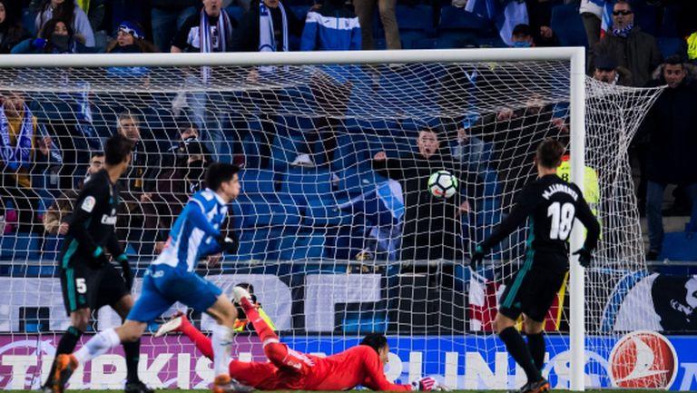 Еспаньол шокира Реал Мадрид в последната минута (видео + галерия)