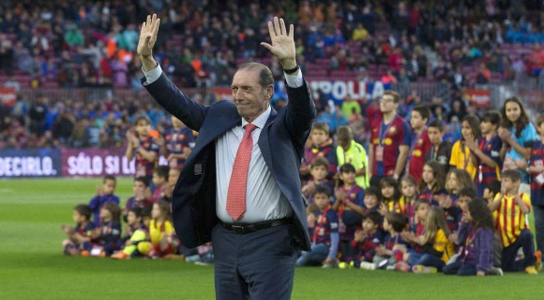 Отиде си легендата на испанския футбол Кини