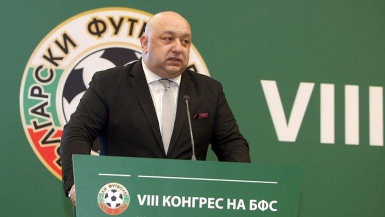 Кралев: Конгресът на БФС беше абсолютно прозрачен
