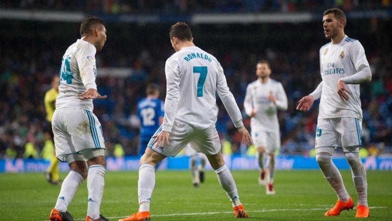 Кристиано се завърна с рекорд, Реал Мадрид загря с победа за Париж (видео+галерия)