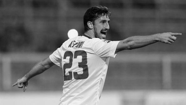 Милан скърби след смъртта на Астори