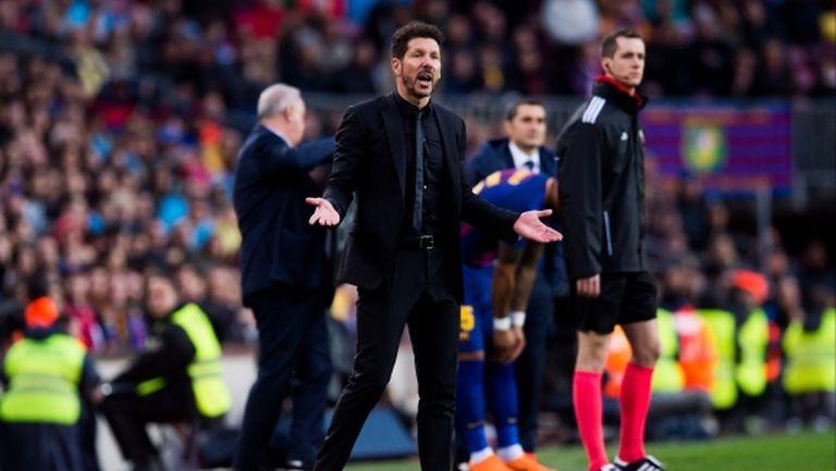 Симеоне: Ако Меси играеше за Атлетико, щяхме да спечелим